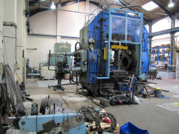 In July 2013 SSE Pipefittings employed Wessex Hydraulic Services to undertake a complete 180 turn and renovation of its Nelson Tee Press. & SSE Pipefittings Ltd